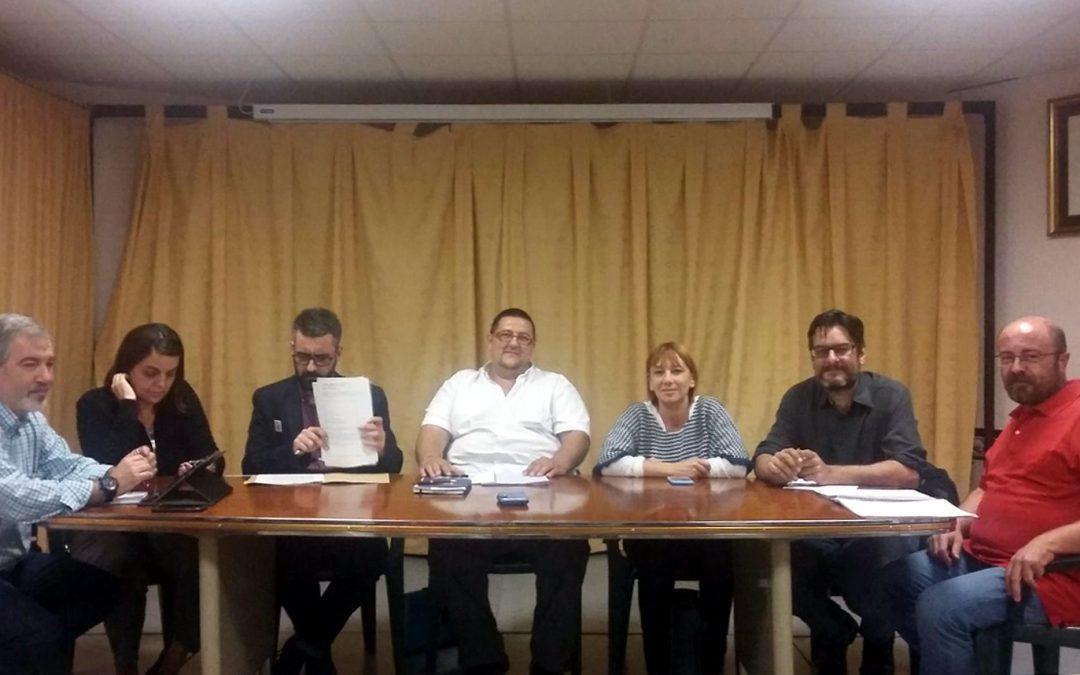 Reunión con concejales Exmo. Ayuntamiento de Valencia