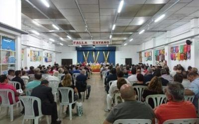 Asamblea en Gayano